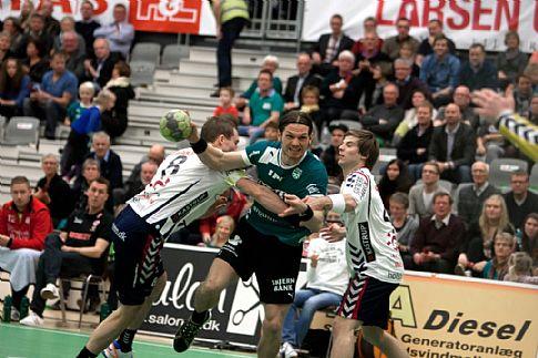 Skjern Håndbold-Vestjyske veteraner lader op til Kampen om Vestjylland